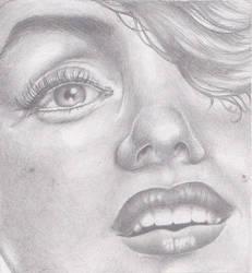 Marilyn Monroe by helluvaman