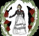 North Frisia Traditional Dress