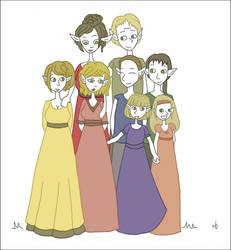 - WIP Elfic Family Portrait -