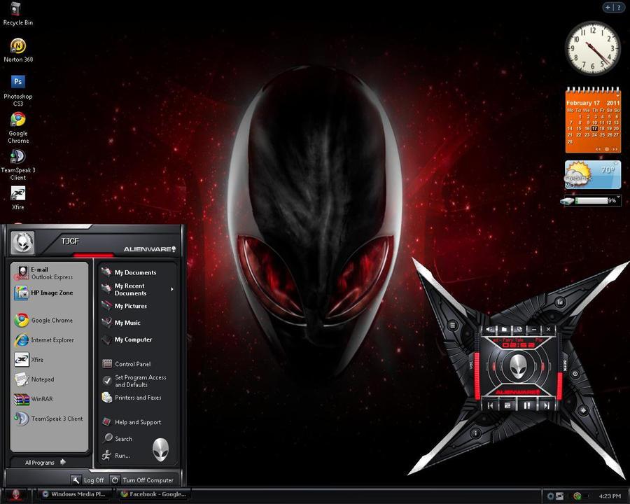 theme alienware pour xp