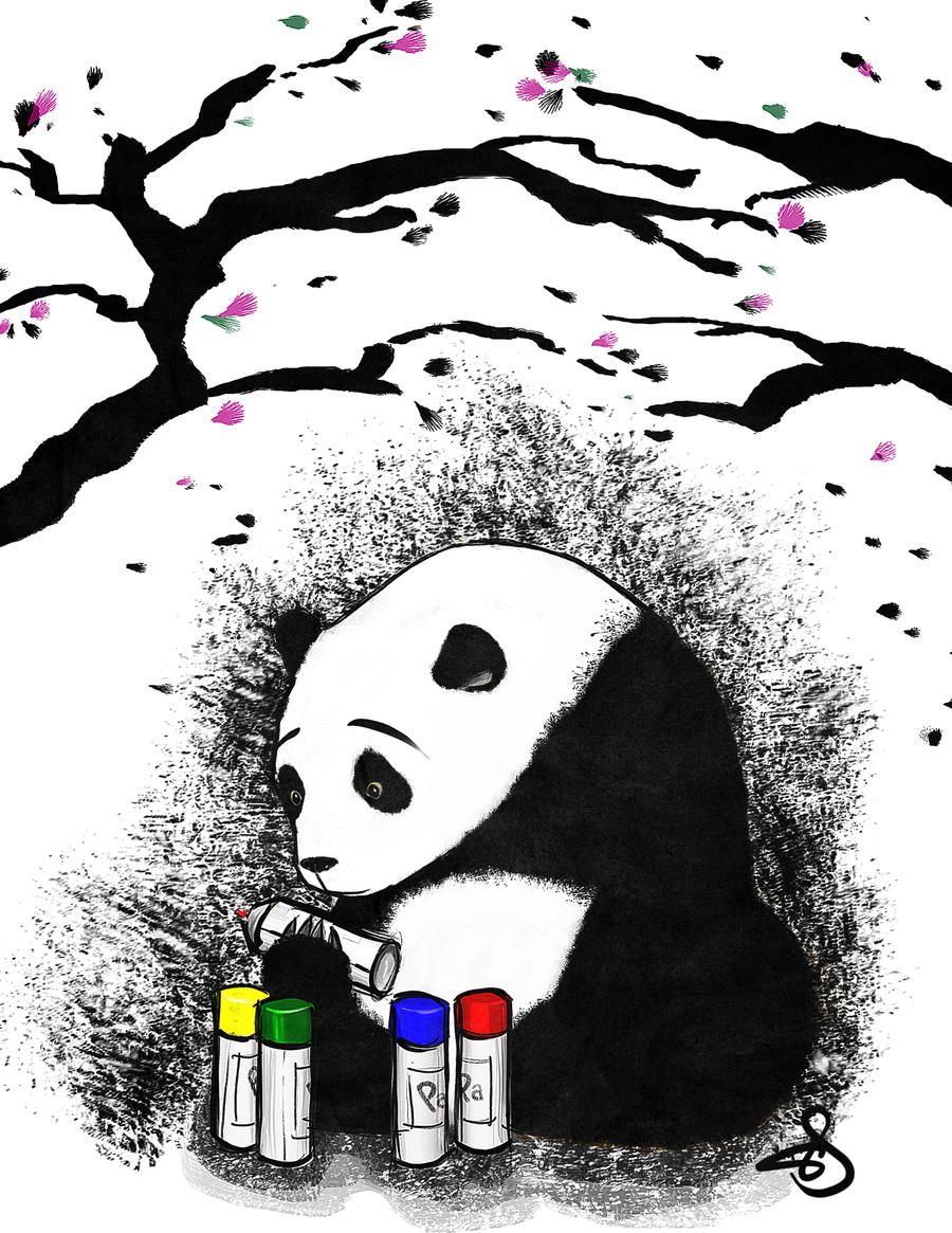 Pandalism by mousbomb