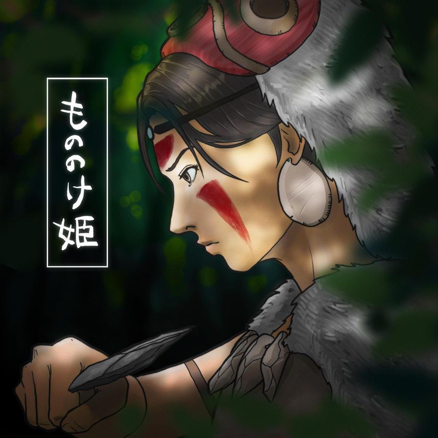 (7) Princess Mononoke by shinjifujioka