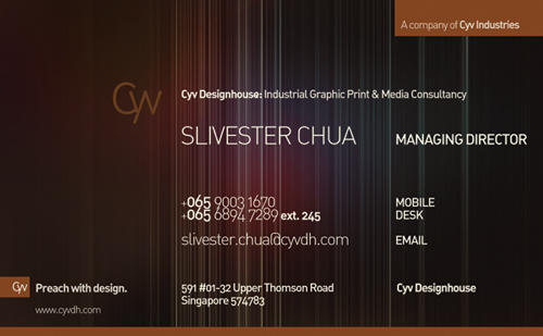 Business Card with Cyv Dh by humors