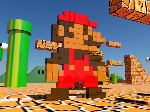 Pixel Mario bros