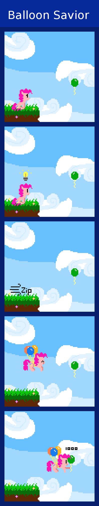 Balloon Savior by Zztfox
