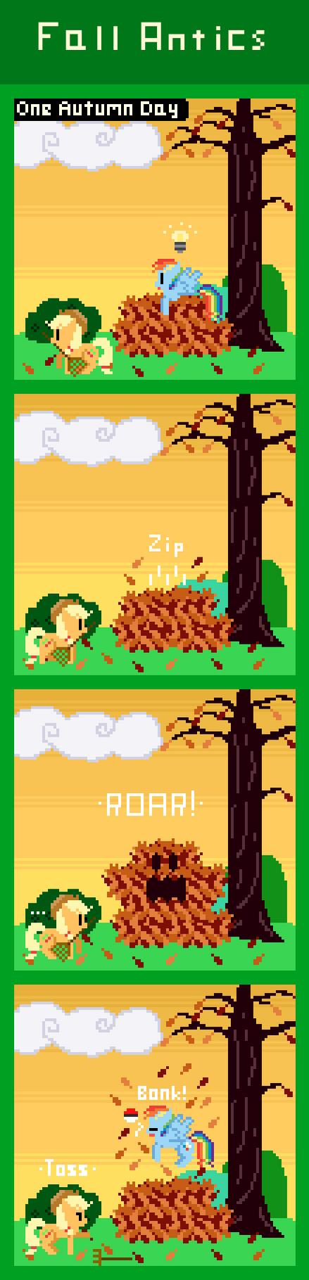 Fall Antics by Zztfox