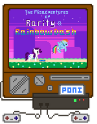 The Misadventures of Rarity and Rainbow Dash