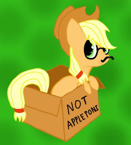 No Apple Poni Here by Zztfox
