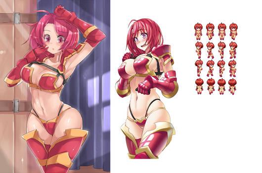 Goblin Slayer Cow Girl Bikini Armor Rpg maker