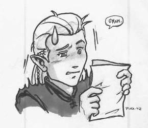 Legolas discovers fanfics by PPCAgents