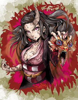 Nezuko Kamado | DEMON SLAYER | Kimetsu no Yaiba