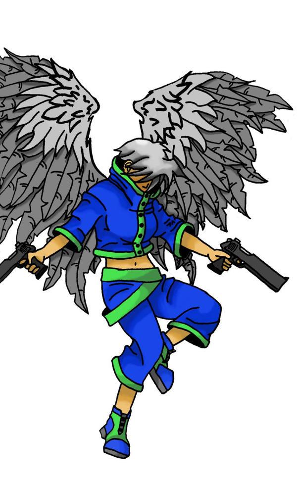 battle ready angel by Nichkoi