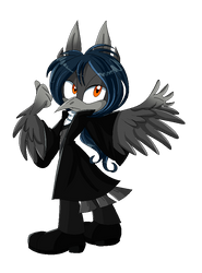COMM: Arthur The Raven by MeLoDyClerenes