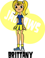 Brittany from Daria MTV on Total Drama Style by JaDraws