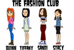 The Fashion Club on Total Drama style.