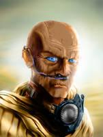 Fremen Warrior by kunkkunk