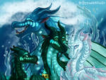 Wings of Fire - Royal SeaWing Siblings