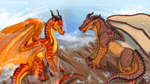 Wings of Fire - Peril and Clay