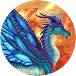 Wings of Fire - Blue by Biohazardia
