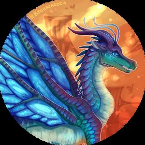 Wings of Fire - Blue