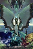 [Pyrrhia-Pantala AU] - Dead Dragons Lie Dreaming by Biohazardia