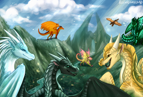 Wings of Fire - Welcome to Jade Mountain
