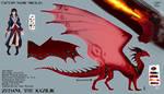 [Insurgence of Dragons] - Cpt. Nikolas and Zebani by Biohazardia