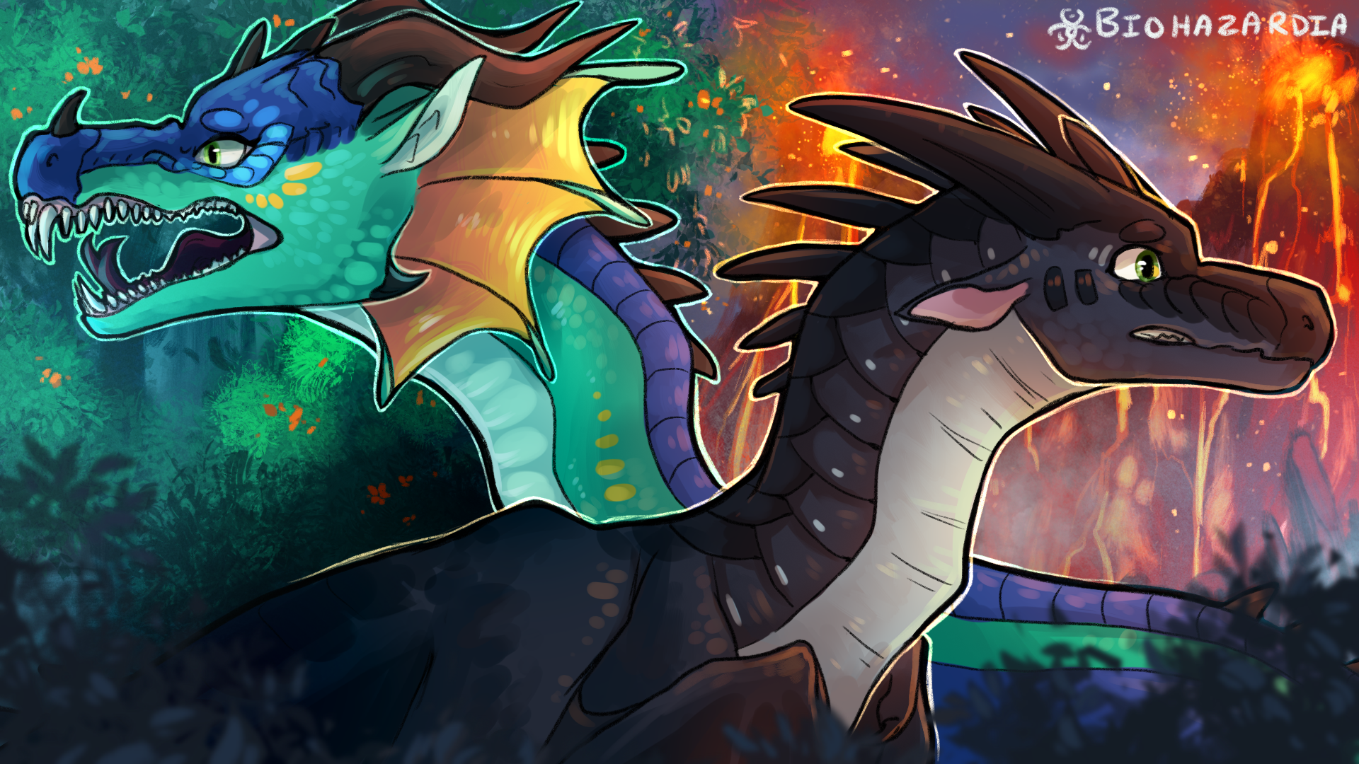 Wings Of Fire The Jungle By Biohazardia On Deviantart