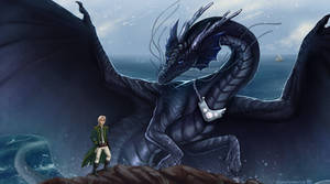 His Majesty's Dragon - Temeraire and Capt.Laurence