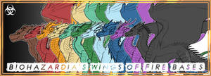 [Wings of Fire] - Biohazardia's Fullbody Bases