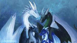 Wings of Fire - Whiteout's Painting