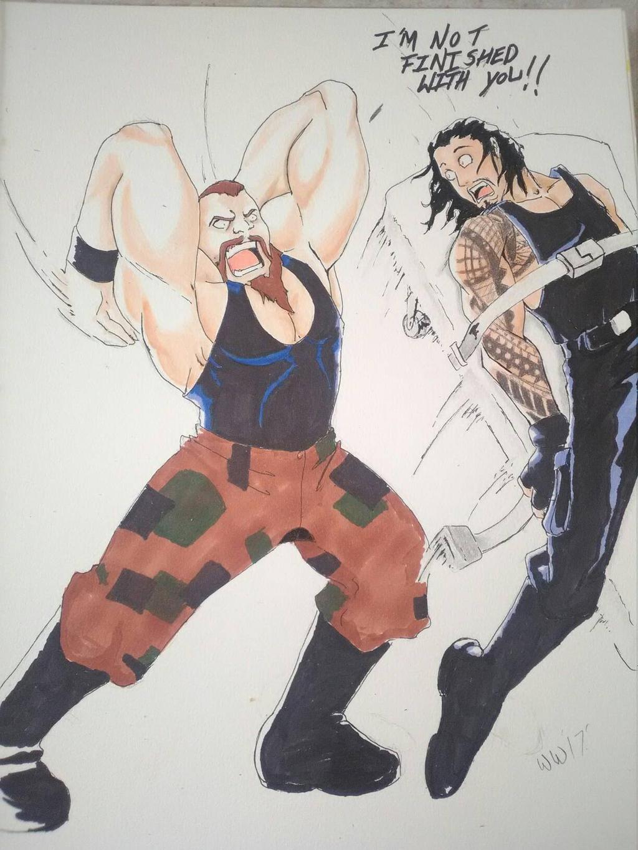 Braun Strowman by ninjapanda1980