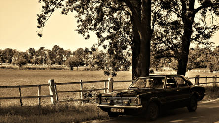 Ford Taunus - Country backroads soul..