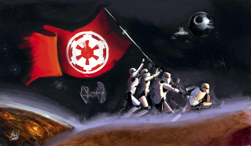 Hail to the Empire -WIP- by RyanJampole