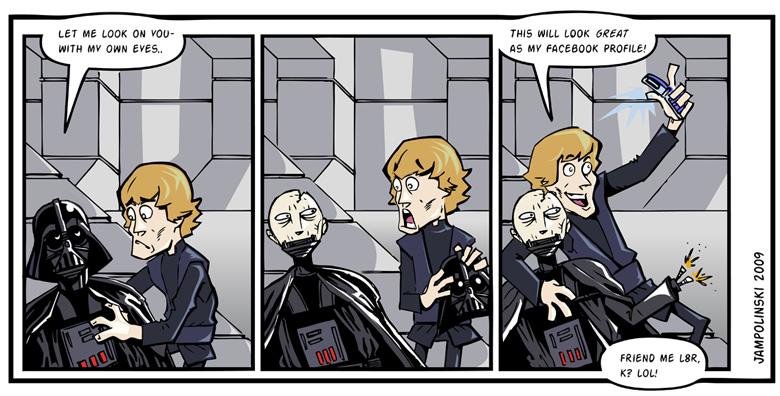 Star Wars Strip by RyanJampole