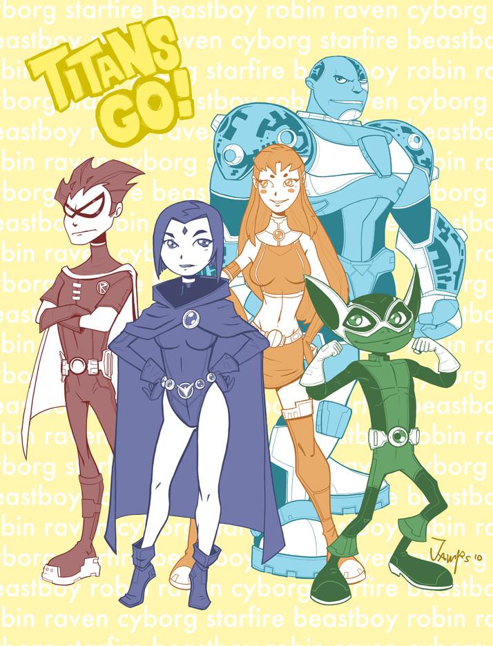 Titans GO by RyanJampole
