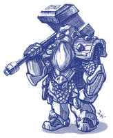 Dwarf doodle by RyanJampole