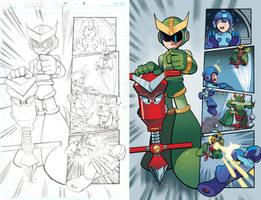 Mega Man 20 Pg6 by RyanJampole