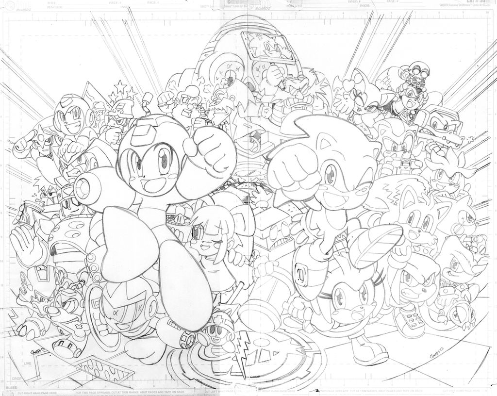 Sonic 250 variant cover