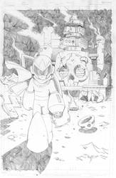 Proto man pencil commission by RyanJampole