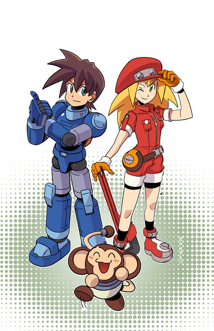 Mega Man Legends by RyanJampole