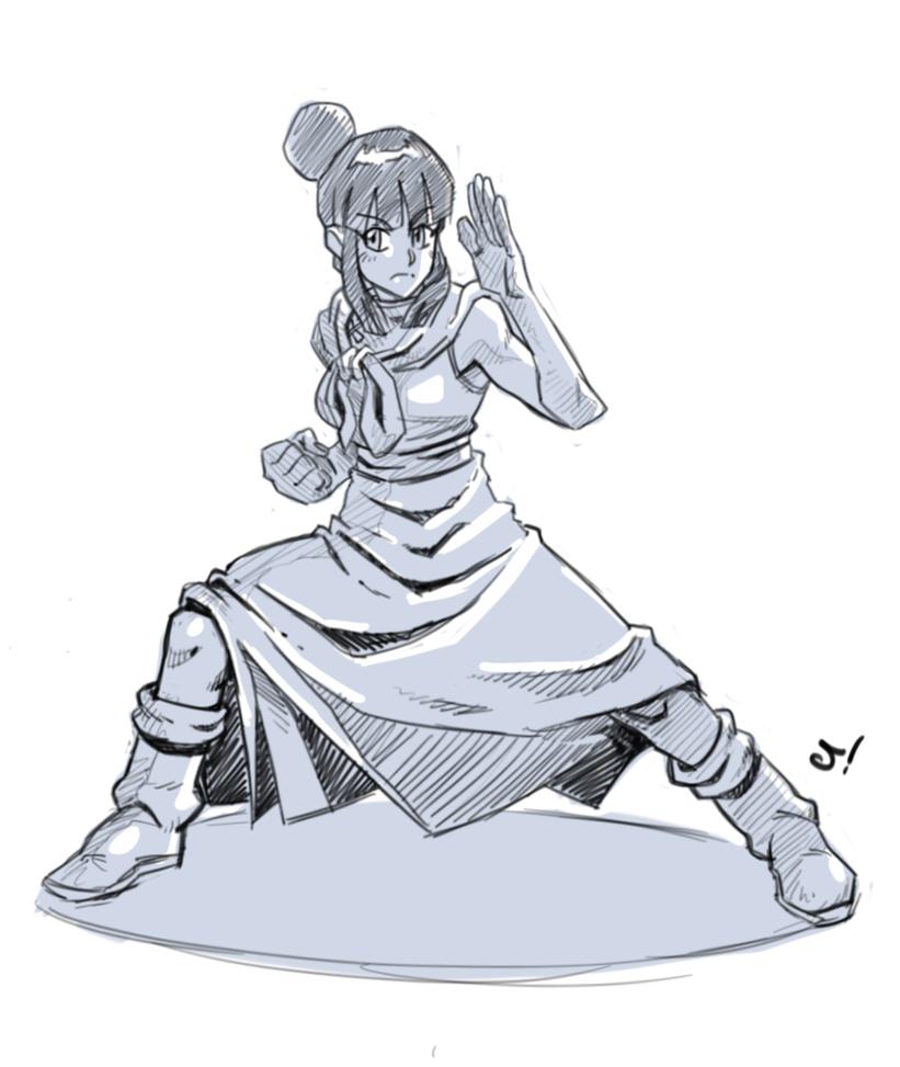 Chi-Chi sketch by RyanJampole