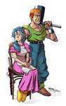 Lara and Taban Chrono Trigger Collab