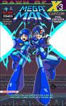 Mega Man 39 pixel variant cover