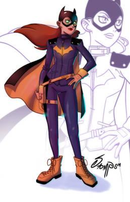 Batgirl drawing