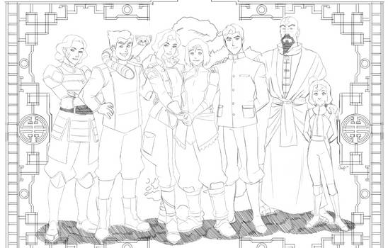 Farewell to Legend of Korra pencils
