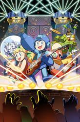 Mega Man issue 55 ROCKMAN variant cover