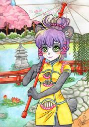 Pandagirl in Quipao