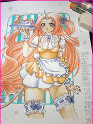 Color Concept - Luri Maid Dress
