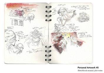 Sheridan Animation Portfolio Sketchbook Excerpt #1